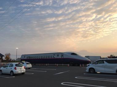 新幹線 道の駅 福島県 E2 あいづ