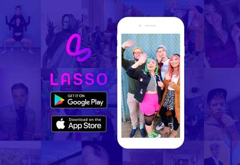 Lasso Facebook TikTok ショート動画配信 アプリ