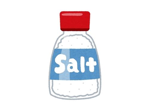 塩、値上げ