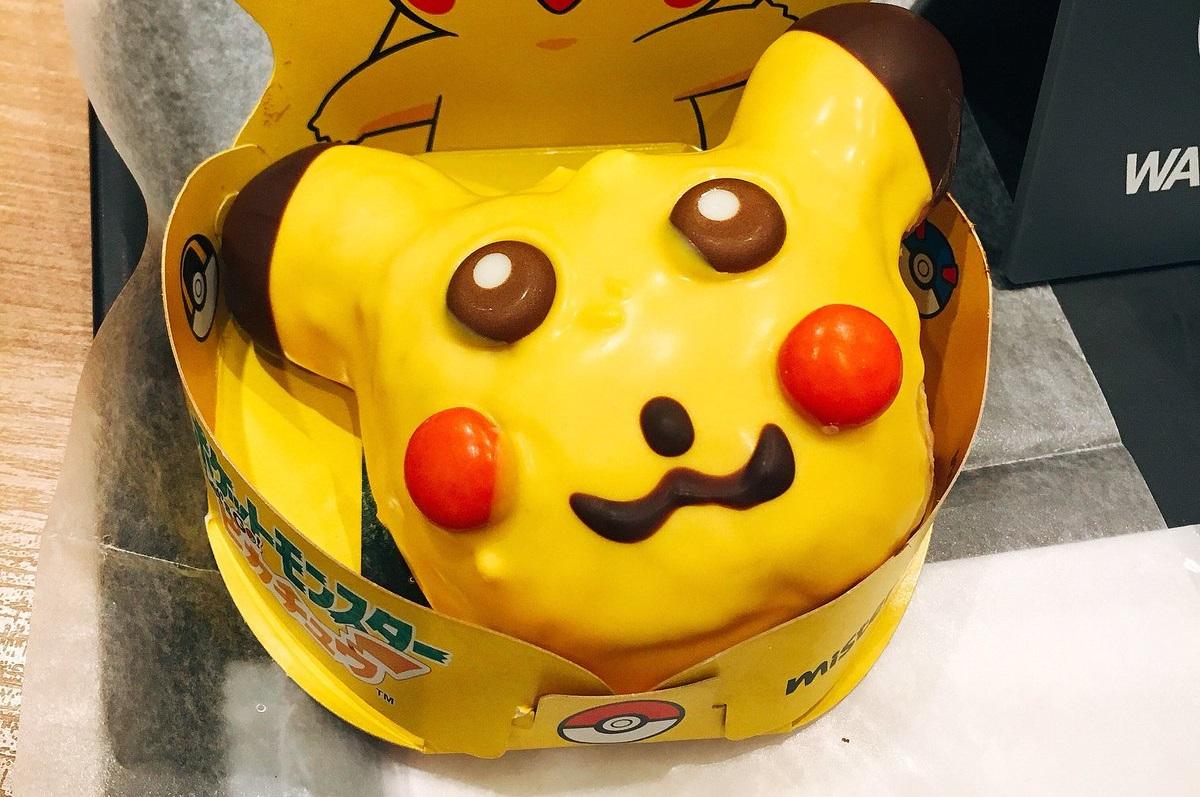 ピカチュウ\u2026\u2026? ミスドのコラボ商品「ピカチュウ ドーナツ」一部店舗で個性的なデザインで提供される , ねとらぼ