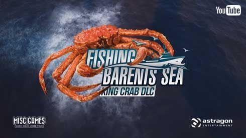 タラバガニ 漁獲 ゲーム Fishing Barents Sea King Crab