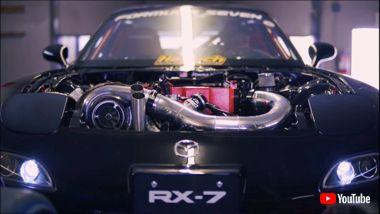 RX-7 950馬力 魔改造 カスタム アフターファイア FD3S