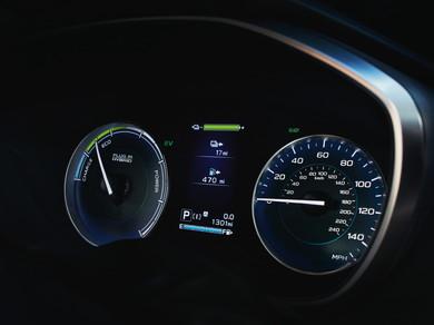 航続距離は約772km。EVモードでは約27kmの走行が可能