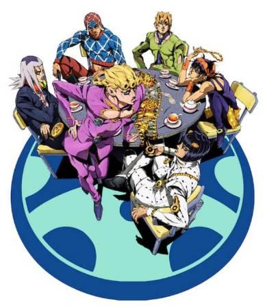 TVアニメ 「ジョジョの奇妙な冒険」五部キービジュアル