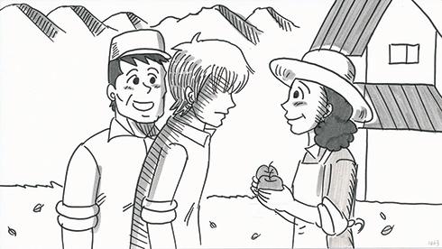 鉄拳 家族のはなし パラパラ漫画 実写 映画 インタビュー 岡田将生 成海璃子