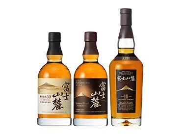 キリンの定番ウイスキー「富士山...