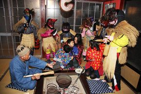 来訪神 無形文化遺産 仮面 仮装 アマメハギ