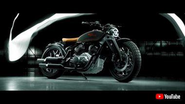 ロイヤルエンフィールド バイク コンセプトモデル KX