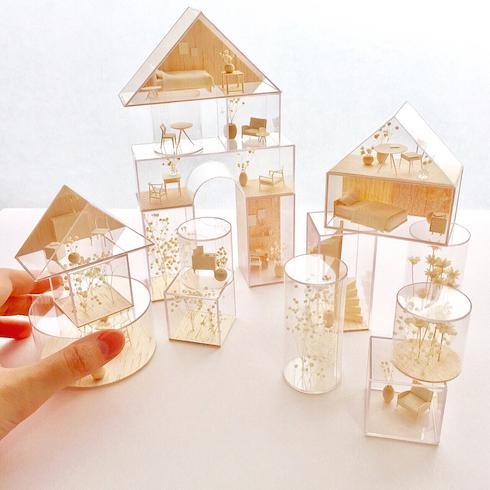 o_barba_n 建築模型 ハンドメイド大賞