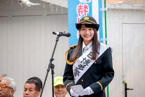 福田愛依 めいめい 福岡 日本一かわいい女子高生 女子高生ミスコン 一日署長 博多