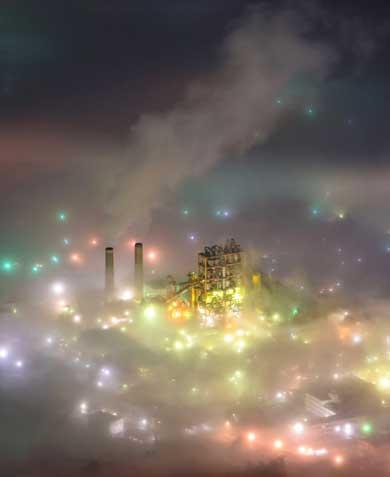 秩父 雲海 秩父盆地 武甲山 写真 幻想的 美しい