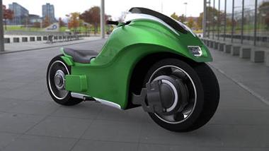 空飛ぶバイク ジャイロドローン ホバーバイク