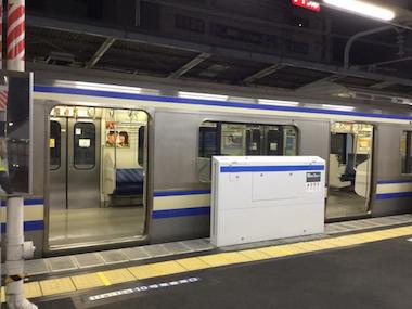 新小岩 ホームドア JR東日本