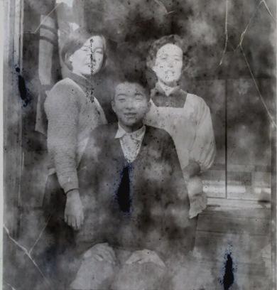 二眼レフカメラ フィルム 古い家族写真 白黒 情報募集 白百合学園