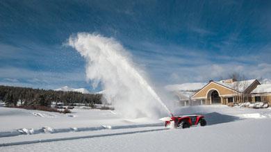 除雪用のアタッチメント