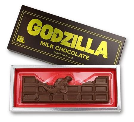 モスラの幼虫、チョコに バレンタインに合わせ発売