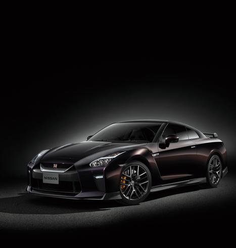 日産自動車 GT-R 大坂なおみ