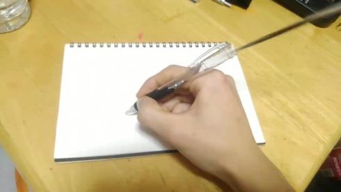 ボールペン ムカつく