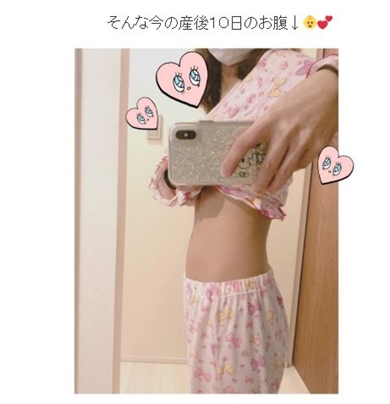 辻希美 出産 妊娠 お腹 臨月 産後 体重
