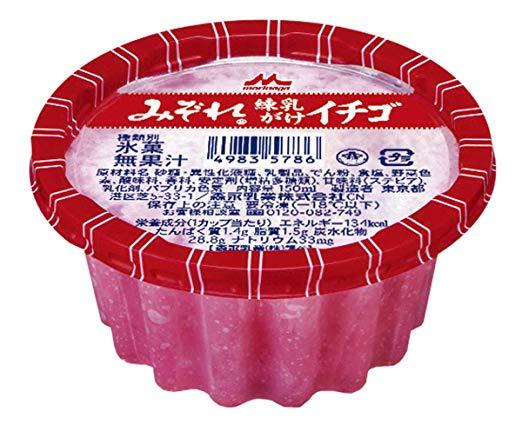【森永】 かき氷の「みぞれイチゴ」「みぞれ金時」、販売終了と判明 新製品に注力のため