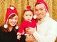 「こういうことを楽しめるって幸せ」 平愛梨、長友佑都&バンビーノとの聖夜の家族ショットに感激
