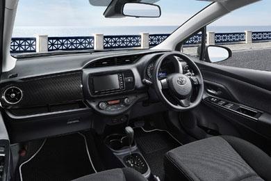 特別仕様車の内装