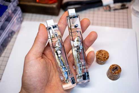 小魚 USBメモリ 煮干し 生物の脳 記憶媒体 ネタ ハンドメイド 販売