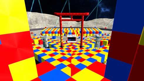 バーチャル初詣 cluster 輝夜月 VR 仮想空間