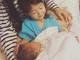 歌手のAI、「it's a baby boy」と第2子男児の出産を報告 長女との写真も公開