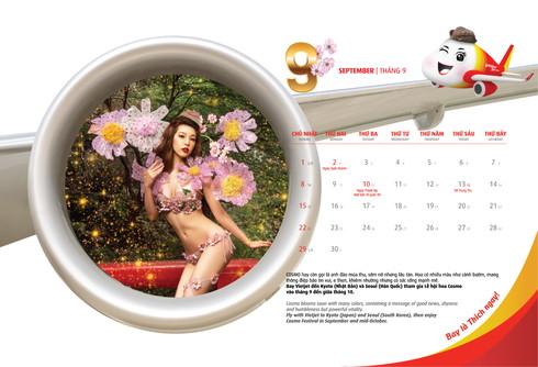 ベトジェット ビキニ カレンダー