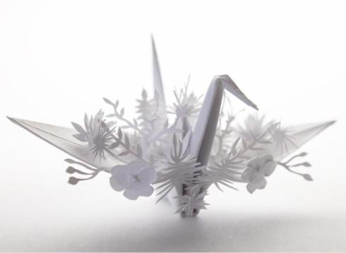 進化系折り鶴01