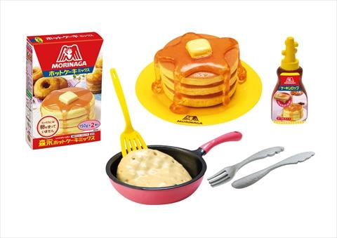 森永のおかしなぷちレシピ ホットケーキ
