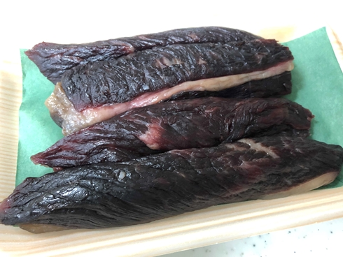 岡山 復興 津山 干し肉 ほし肉 稲葉浩志