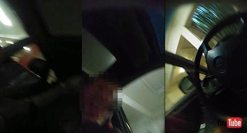 荷物泥棒をこらしめる! 映像も記録するグリッター散布マシンが芸術的