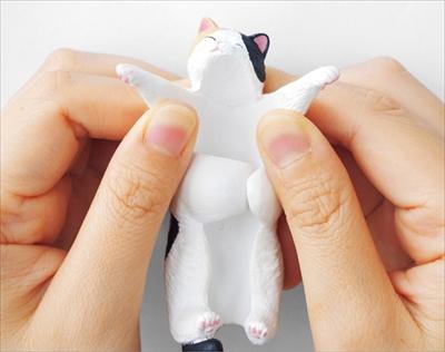だら〜ん猫の傘タグ