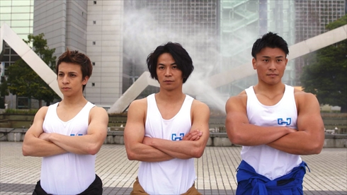 THE WASHMEN -洗男- 筋肉 dtv 劇団ヘラクレスの掟 マイキ 鶴田亮介 吉田光