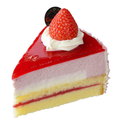 濃厚苺のムースケーキ単体