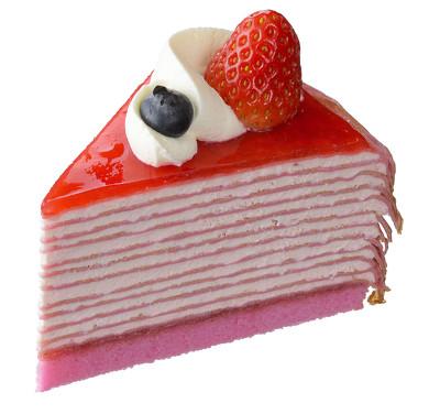 濃厚苺のミルクレープ単体
