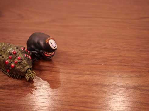 カオナシ オーム 王蟲 ストーブ 取り上げ 4コマ フィギュア えだま
