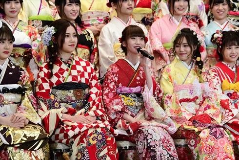 AKB48 SKE48 NMB48 HKT48 NGT48 STU48 BNK48 成人式 振袖