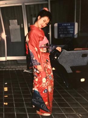 森口博子 バラドル 朝ドラ 成人の日 20歳 振り袖 現在 昔