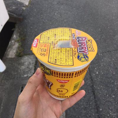 カップ麺ライフハック