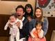 東尾理子、65歳になった石田純一をすみれらと祝福 「44歳、28歳、6歳、2歳、9ヶ月のお父さん」