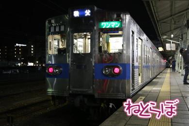 乗り鉄 夜行急行 秩父鉄道