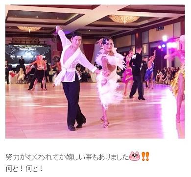 キンタロー。 社交ダンス世界大会 金スマ ロペス