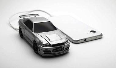 スカイライン GT-R R34 モバイルバッテリー