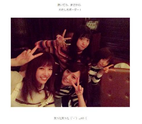 高橋みなみ 北原里英 舟山久美子 村田莉 AKB48 NGT48 アイドル モデル 1991年 平成3年 タメ
