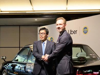 タクシー uber