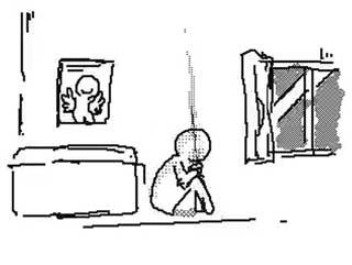 Twitter めっちゃいい絵を見た時 心境 アニメーション GIF いいね リツイート うごメモ