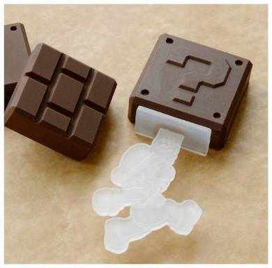 シリコントレーセット(アイテム)のチョコレート写真